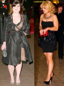 Kelly Osbourne before and after fat loss photos
