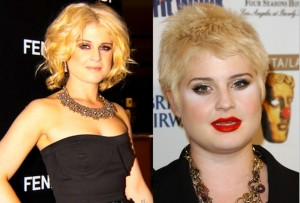 Kelly Osbourne before and after fat loss pics
