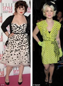 Kelly Osbourne before and after weight loss photos
