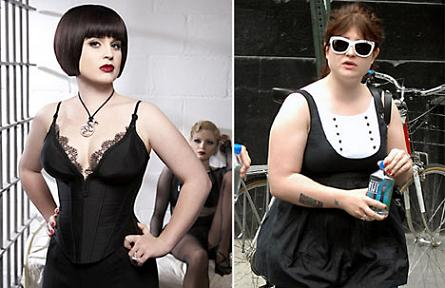 Kelly Osbourne before and after weight loss pics