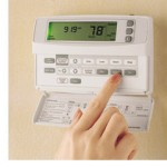 Turning down the thermostat
