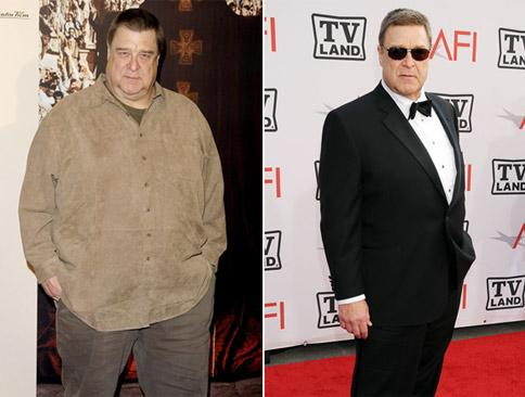 John Goodman Before and after weight loss pics