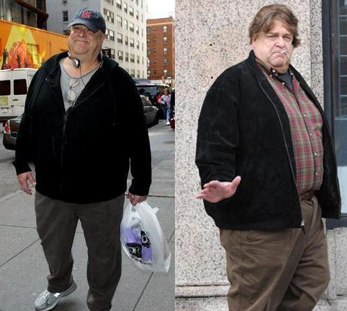 John Goodman before weight loss pictures