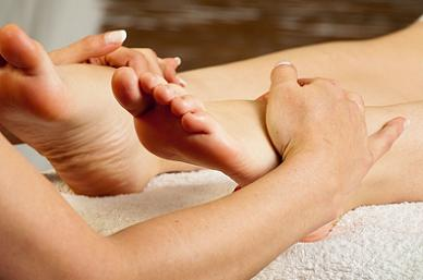 Reflexology weight loss massage