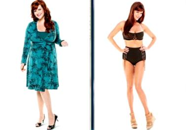 Sara Rue before and after weight loss