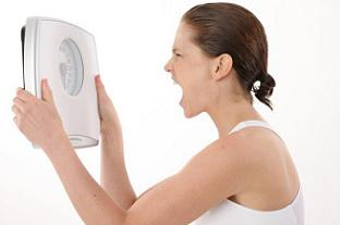 woman emotional weight loss